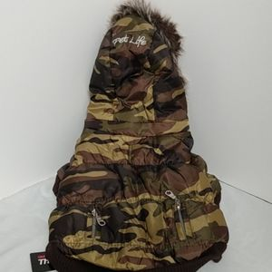 3M thinsulate Other - Camouflage pet jacket small